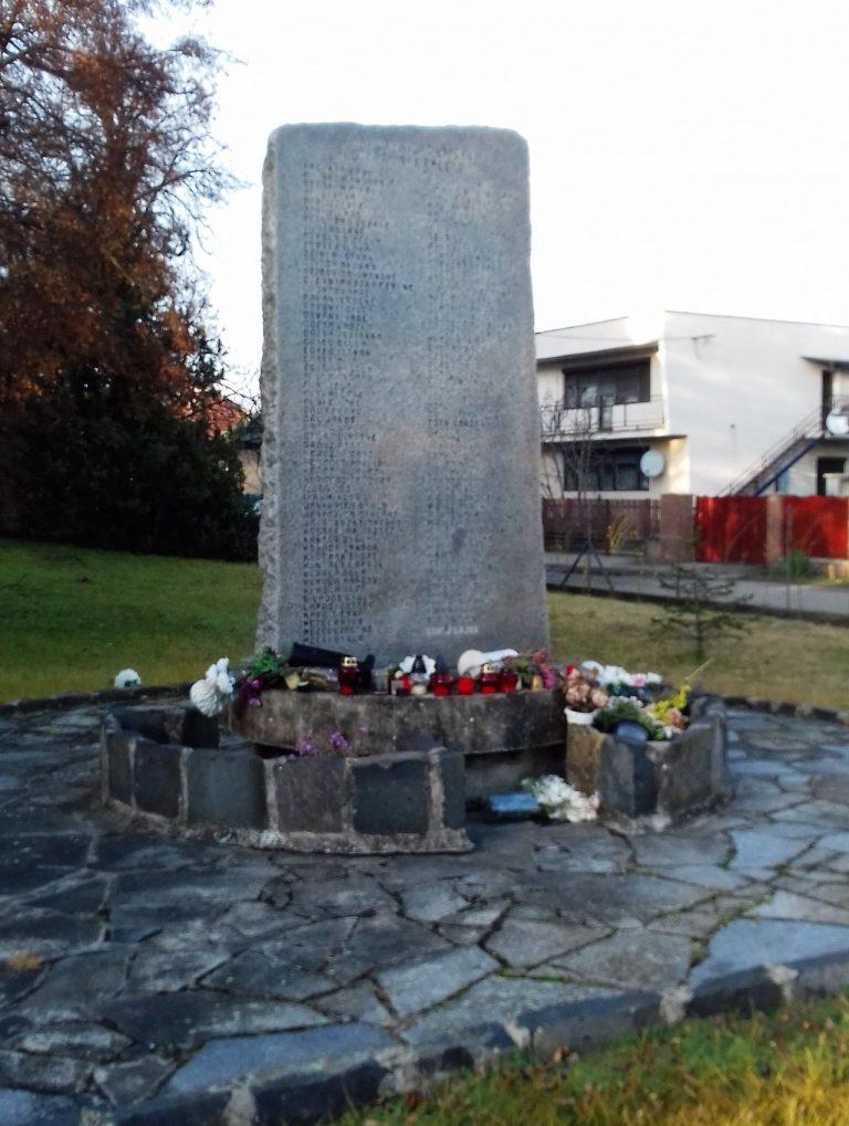 II.világháborúban elesettek emlékére