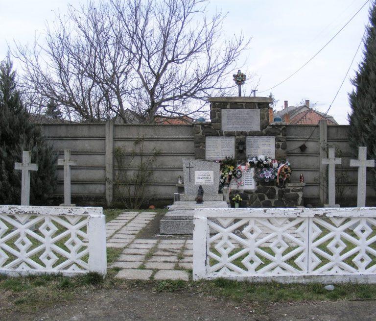 A II. világháború ipolyszalkai áldozatai és a Szent László hadosztály katonáinak emlékére