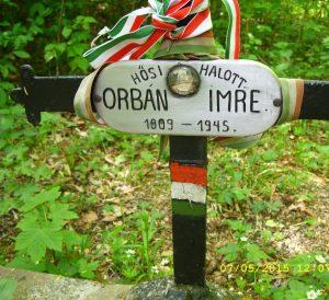 Orbán Imre sírja